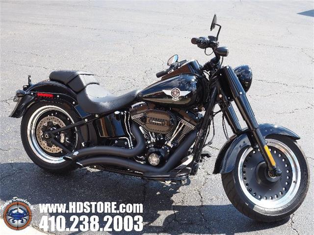 Pre-Owned 2016 Harley-Davidson Softail FLSTFBS FAT BOY S