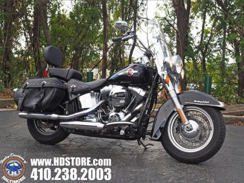 Pre-Owned 2017 Harley-Davidson Softail FLSTC HERITAGE CLASSIC