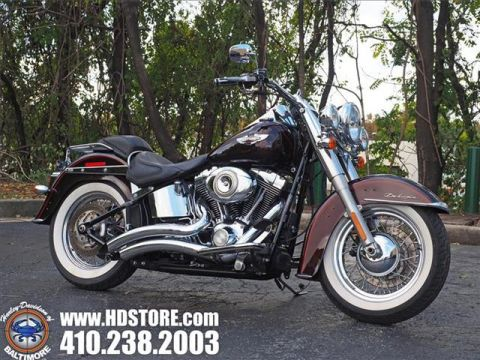 Pre-Owned 2011 Harley-Davidson Softail FLSTN DELUXE