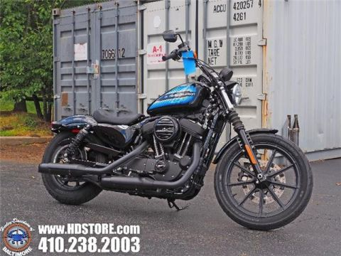 Pre-Owned 2018 Harley-Davidson Sportster XL1200NS IRON 1200