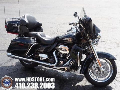 Pre-Owned 2013 Harley-Davidson Touring FLHTCUSE8 CVO ULTRA ANNIVERSARY