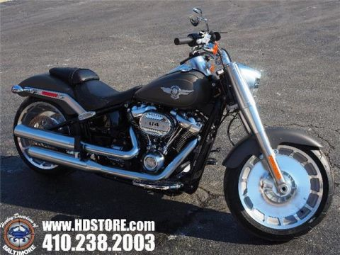 New 2019 Harley-Davidson Softail FLFBS FAT BOY 114